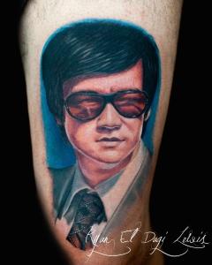 Bruce Lee Portrait