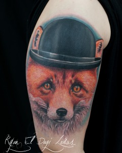 Fox in Bowler Hat