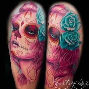 Day of the Dead Wife Portrait