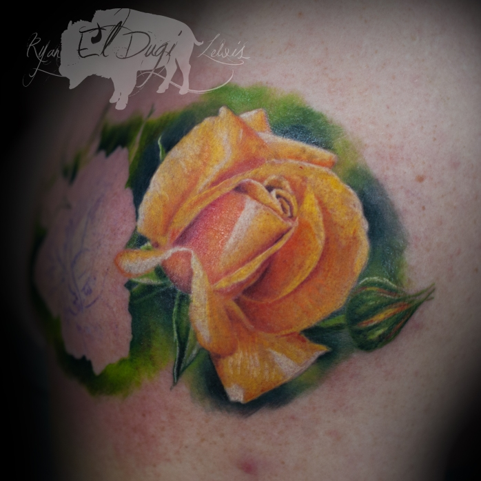 Charlie Yellow Rose SITE